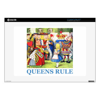 Queens Rule Decal For Laptop