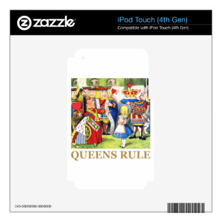 Queens Rule Decals For iPod Touch 4G