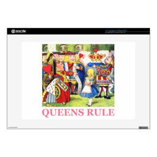 Queens Rule Laptop Skin