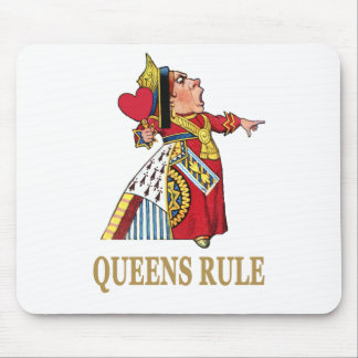 Queens Rule! Mouse Pad