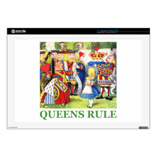 "Queens Rule Skin For 17"" Laptop"