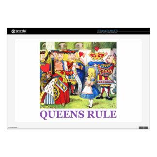 Queens Rule Skin For Laptop
