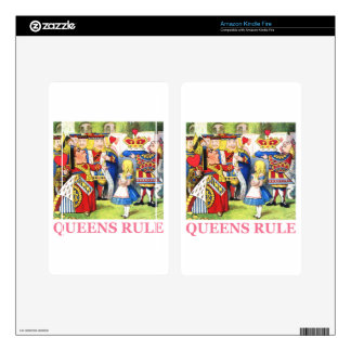 Queens Rule Skins For Kindle Fire