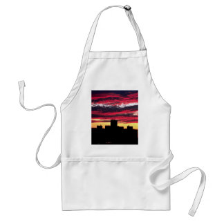 Queens sunset, New York, U.S.A. Aprons
