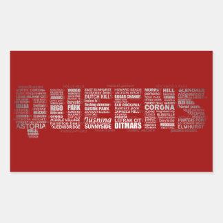 Queens Text Art Design Stickers