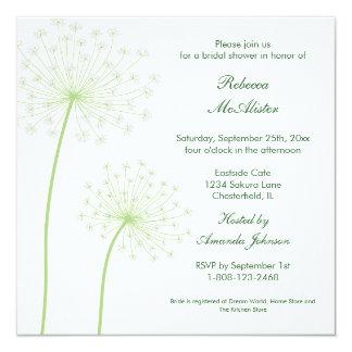 Queen'sAnne Bridal Shower Invitation