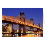 Queensboro Bridge and the East River Greeting Card