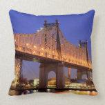 Queensboro Bridge and the East River Pillow