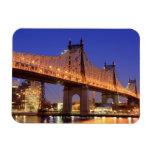 Queensboro Bridge and the East River Flexible Magnets