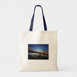 Queensboro Bridge, New York City Canvas Bags