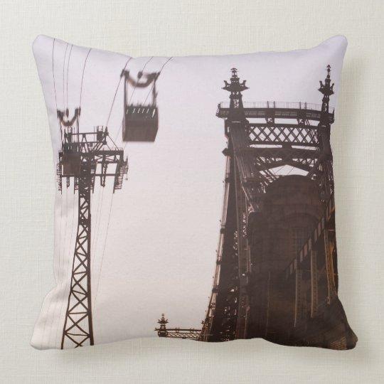 Queensboro Bridge Throw Pillow