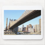 Queensborough Bridge and Manhattan Mousepads