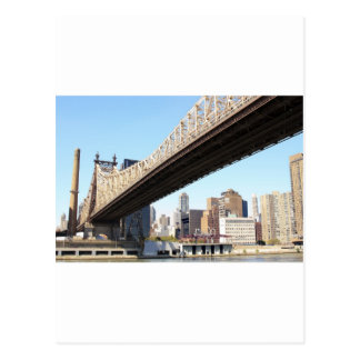 Queensborough Bridge and Manhattan Postcard