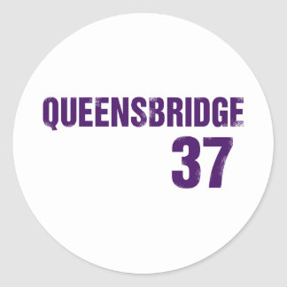 Queensbridge Purple Stickers