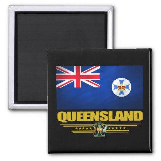 Queensland 2 imán cuadrado