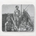 Queensland aborigines engraved from a photograph mouse pad