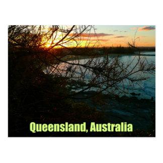 Queensland, Australia Sunset Post Card