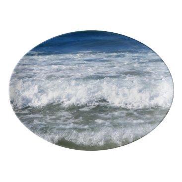 Beach Themed Queensland Coast Porcelain Serving Platter