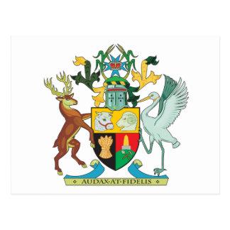 Queensland Coat Of Arms Postcard