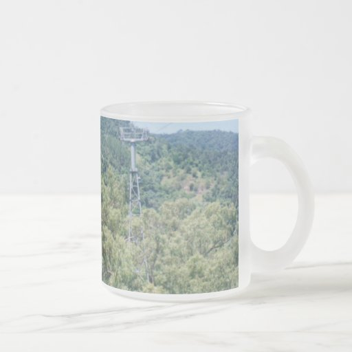 Queensland Frosted Glass Coffee Mug