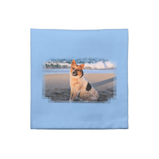 Queensland Red Heeler - Lucy Cloth Napkin