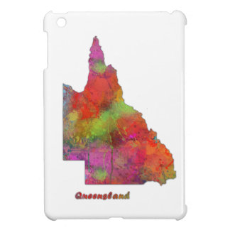 QUEENSLAND STATE MAP - iPad Mini Case