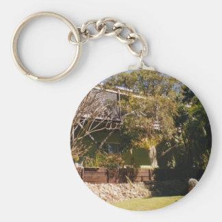 Queenslander Llavero Redondo Tipo Pin