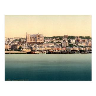 Queenstown - Cobh postcard, vintage Cork Ireland Postcard