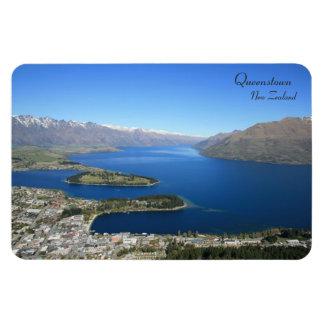 Queenstown del pico de Bob, Nueva Zelanda - imán