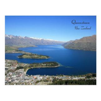 Queenstown from Bob's Peak, New Zealand - Postcard