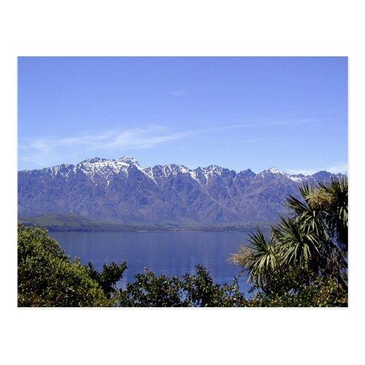 Queenstown, montañas de NZ y postales de la natura