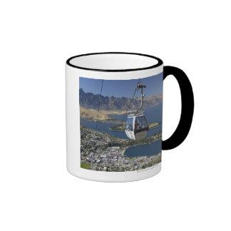 Queenstown, New Zealand Ringer Coffee Mug