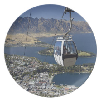 Queenstown, New Zealand Party Plate