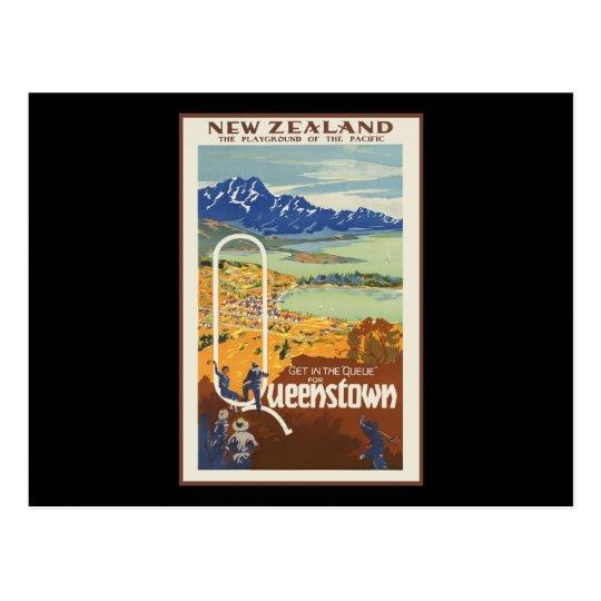 Queenstown New Zealand Postcard