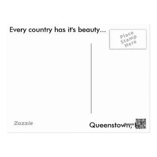 Queenstown, NZ Postcard
