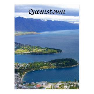 queenstown nz postcard
