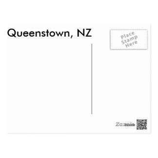 Queenstown, NZ the Remarkables Postcard