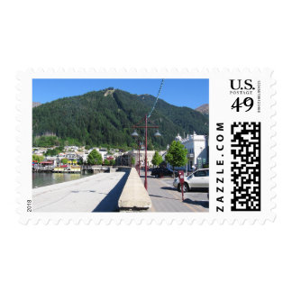 Queenstown, Otago, Nueva Zelanda Sello Postal