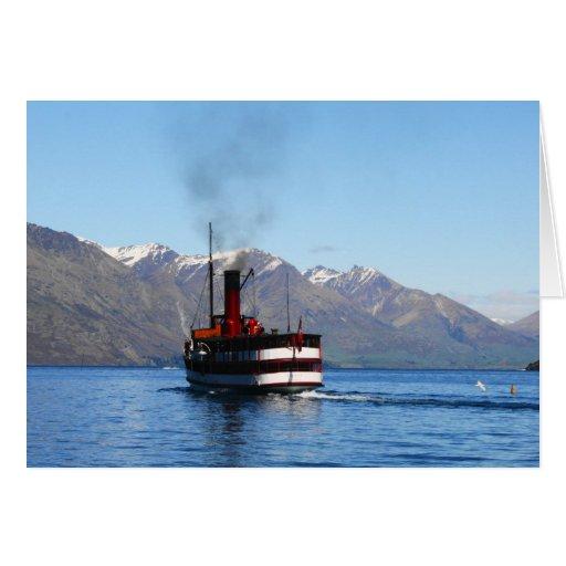 Queenstown Steam Boat Card