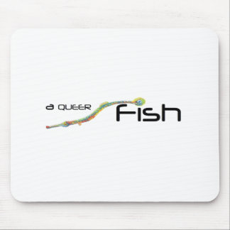 Queer Fish Mouse Pad