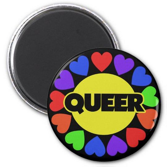 Queer Gay pride Magnet