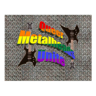 Queer Metalheads Unite Postcard