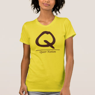 Queer Nation Tee Shirt