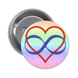 Queer Poly Badge Pinback Button