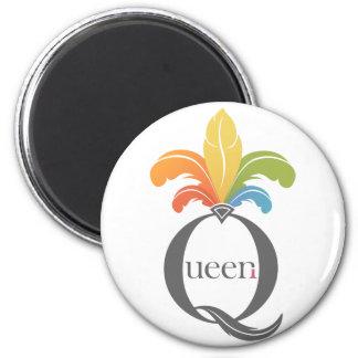 Queer Queen Refrigerator Magnets
