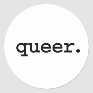 queer. stickers
