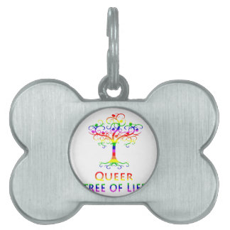 Queer Tree of Life Zazzle.png Pet Tag