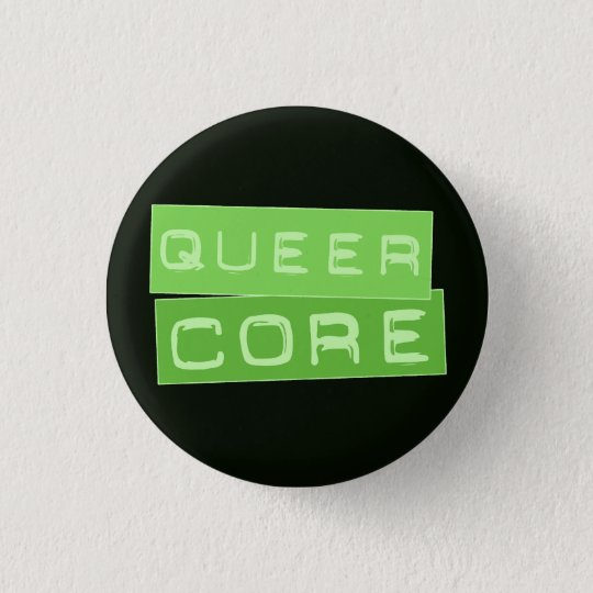 Queercore button (green)