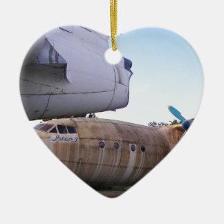 Queing nunca a volar otra vez adorno de cerámica en forma de corazón