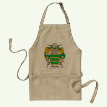 Queipo Family Crest Apron